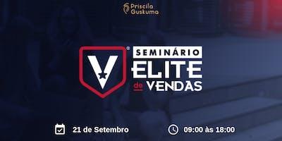 Seminário Elite de Vendas - 21 de Setembro em Arujá