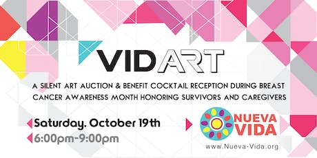 VIDART - Silent Art Auction tickets