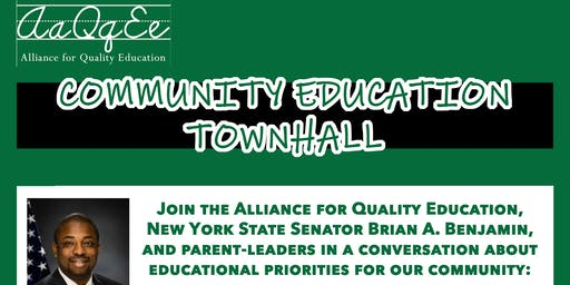 Community Education Townhall