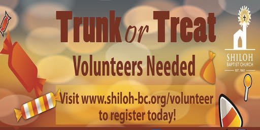 2019 Trunk or Treat Volunteers