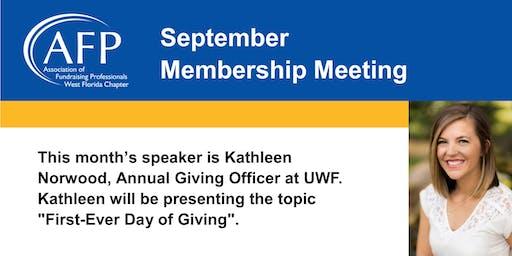 September Membership Luncheon - Association of Fundraising Professionals