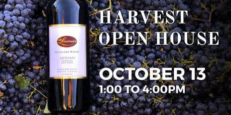 2019 Harvest Open House tickets