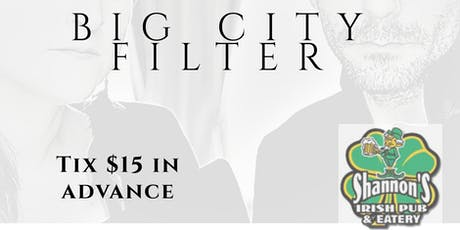 Big City Filter (Full Band) tickets