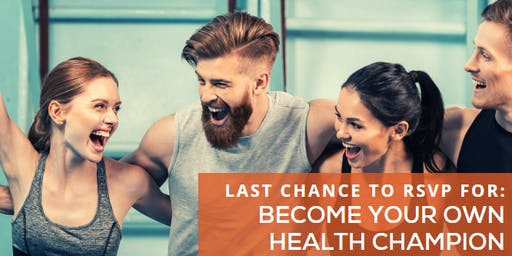Healthy Business Lecture Lunch: Become Your Own Health Champion