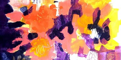 Kathleen Mooney – Abstraction and Acrylics!