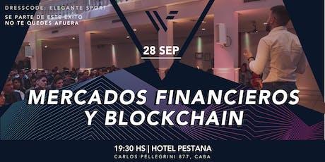 SEMINARIO DE MERCADOS FINANCIEROS Y BLOCKCHAIN 3.0. entradas