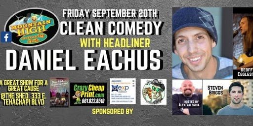 Mountain High Comedy presents Daniel Eachus
