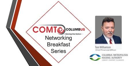 Networking Breakfast Series - Meet CMHA's Tom Williamson, CFO tickets