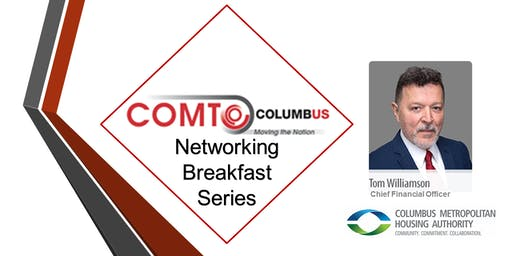 Networking Breakfast Series - Meet CMHA's Tom Williamson, CFO