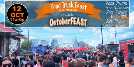 Food Truck Feast in East Nashville:  OctoberFEAST tickets