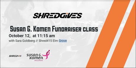 Shred Gives- Breast Cancer Awareness Class tickets