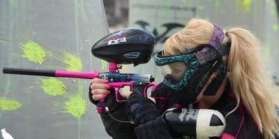 Public Paintball Play at Cousins Paintball Dallas, Texas