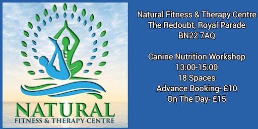 Canine Nutrition Workshop-Eastbourne