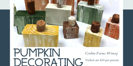Pumpkin Decorating Class tickets