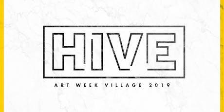 HIVE Art Week Village 2019 tickets