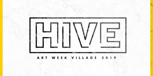 HIVE Art Week Village 2019