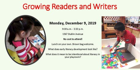 Growing Readers and Writers tickets