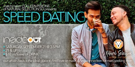 Natural Selection Speed Dating Event at insideOUT tickets