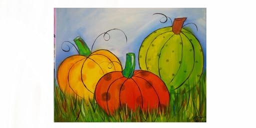 Three Pumpkins | $25