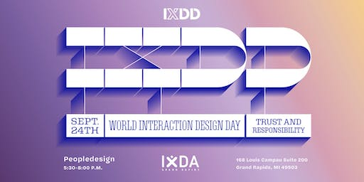 World Interaction Design Day: Grand Rapids