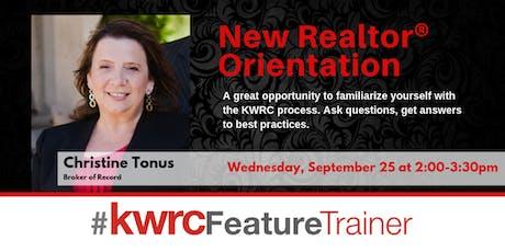 New Realtor® Orientation & Experienced Realtor® Q&A tickets