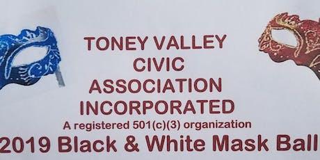Toney Valley 2019 Semi-Formal Black & White Mask Ball tickets