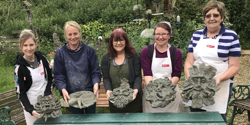 Green Man!- 1 day Sculpture Workshop using Pal Tiya Premium