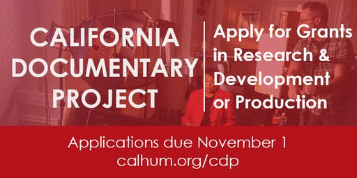 California Documentary Project Grant Workshop at Visual Communications