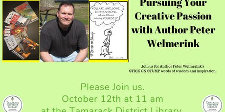 Pursuing Your Creative Passion with Peter Welmerink tickets