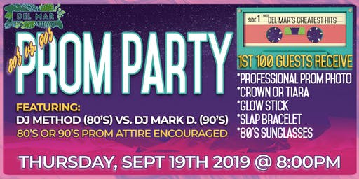 80's vs 90's Prom Party