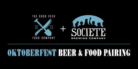 Oktoberfest Beer & Food Pairing tickets