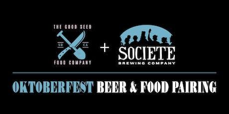 Oktoberfest Beer & Food Pairing tickets