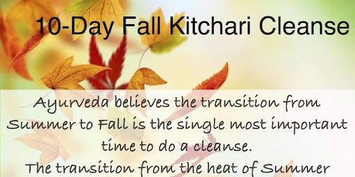 Fall Kitchari Cleanse at Nourish Ayurveda Cafe