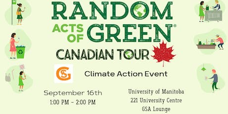 Random Acts of Green: Climate Action Event tickets