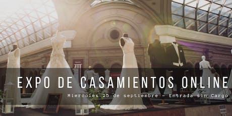 Jornada 45 de Casamientos Online, Expo Para Novias tickets