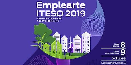 Emplearte ITESO 2019, Día de empleo boletos