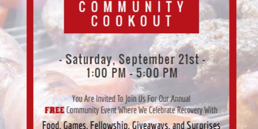 Second Annual Community Cookout