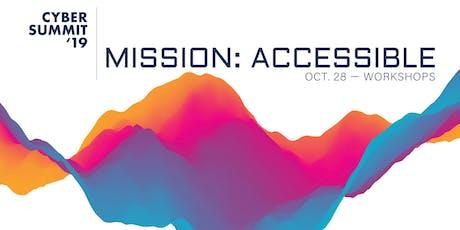 Cyber Summit 2019: Pre-Summit Workshops tickets