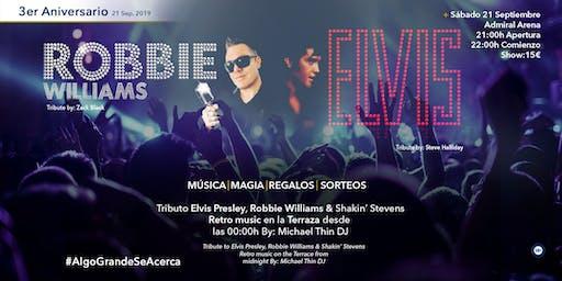 Tribute Robbie Williams / Tribute Elvis Presley