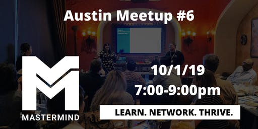 Austin Home Service Professional Networking Meetup  #6