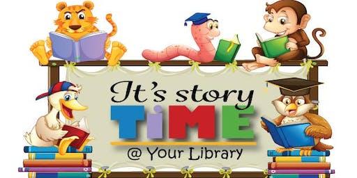 Storytime Thursday, September 26th
