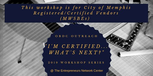 """I'm Certified, What's Next?"" Part Two - (LUNCH & LEARN)"