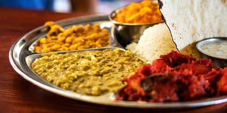 Vegetarian Indian Cuisine with Bhaskar and Yashoda tickets
