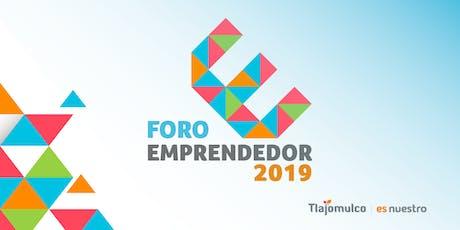 Foro Emprendedor Tlajomulco 2019 boletos