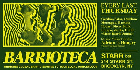 Barrioteca Tropical Dance Party tickets