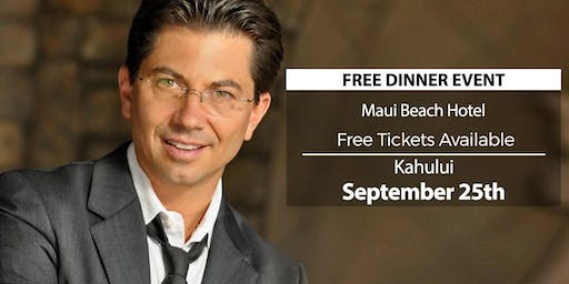 (FREE) Millionaire Success Habits revealed in Kahului by Dean Graziosi