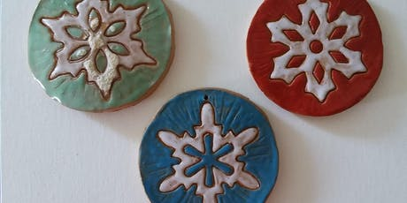 Small Business Saturday - Make Your Own Ceramic Ornament tickets