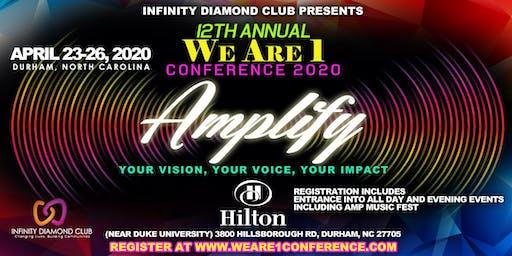We Are 1 Conference 2020 General Registration