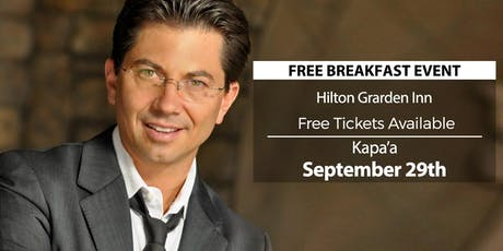 (FREE) Millionaire Success Habits revealed in Kapaa by Dean Graziosi tickets