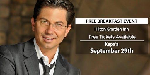 (FREE) Millionaire Success Habits revealed in Kapaa by Dean Graziosi